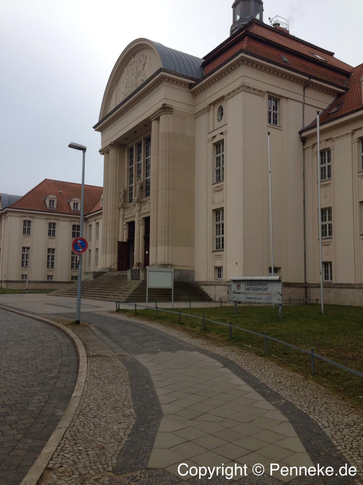 Verkehrte Welt beim Rechtspfleger in Schwerin