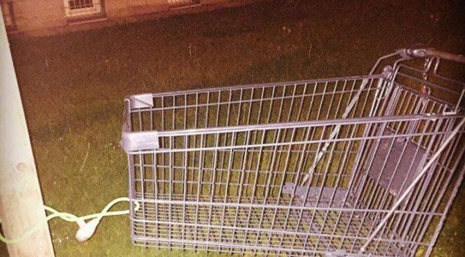 Einkaufswagen mitgenommen – Ist das strafbar?