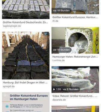 Größter Kokainfund aller Zeiten